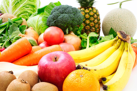 Foto per Vegetable and fruit - Immagine Royalty Free