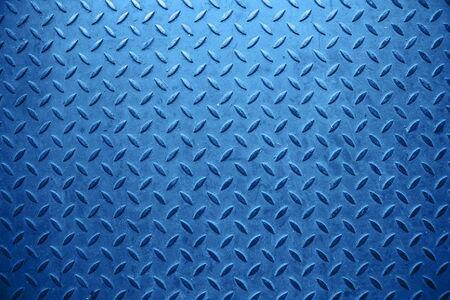 Photo pour Blue metal backroundwith abstract art. - image libre de droit