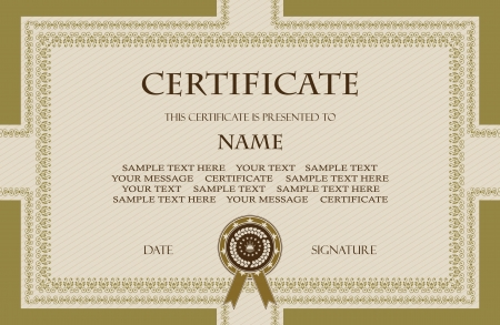 Original vintage frame  Can be used as a diploma or certificate