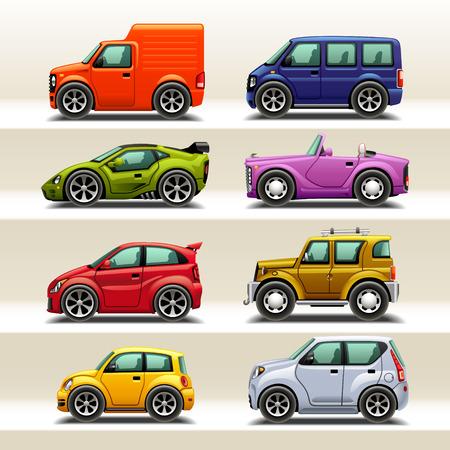 car icon set-2