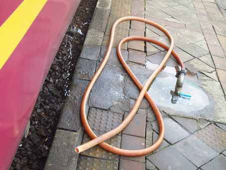 Water Out To Rubber Tube