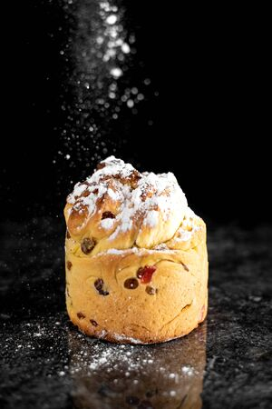 Photo for The modern baking trend of the year is puffmuffin, a mix of croissants and cupcakes - Royalty Free Image