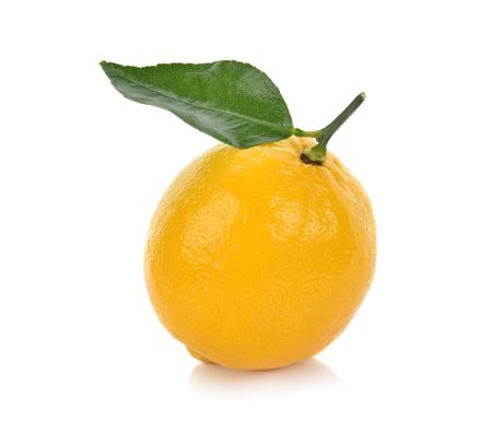 Photo for lemon isolated on white background - Royalty Free Image