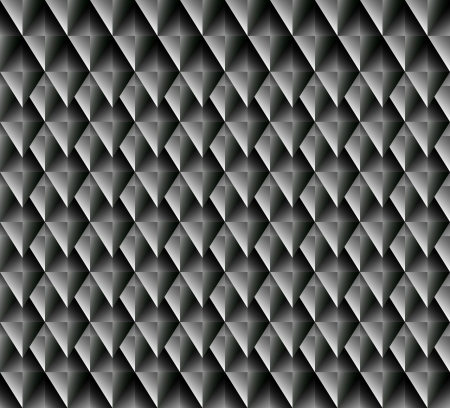 Seamless  vector pattern with blackly grey rhombuses