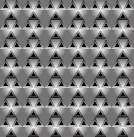 Seamless  vector pattern with blackly grey triangles