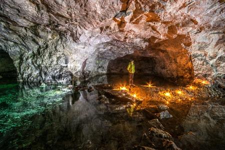 Mine machines in underground mines. Ukraine, Donetsk