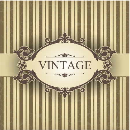 The image Vintage frame
