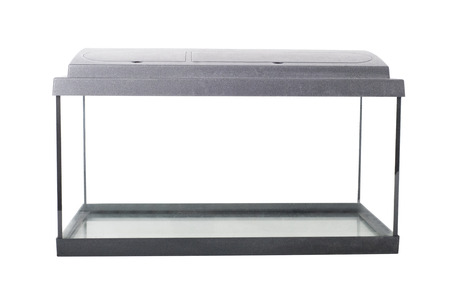Photo for isolated empty fish tank with clipping path - Royalty Free Image