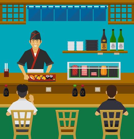 Sushi Bar Japanese Restaurant