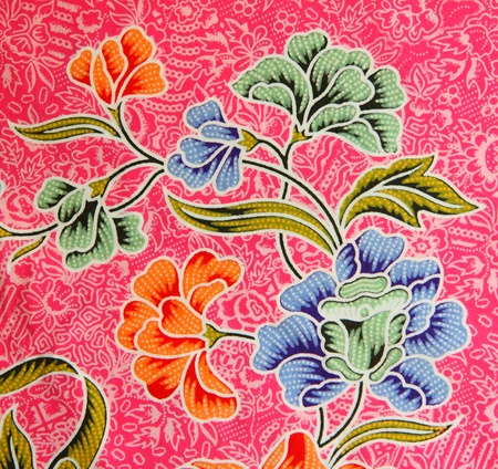 Pattern texture of general traditional thai style native fabric weave
