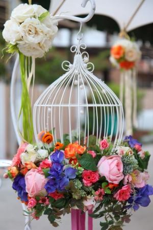 Photo pour Beautiful bouquet of flowers ready for wedding - image libre de droit