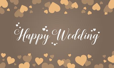 Design wedding grapic vector art