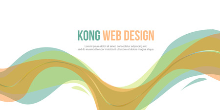 Header website abstract design elegant style vector illustration