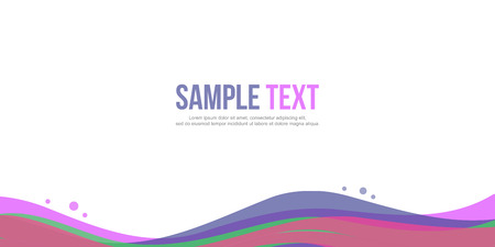 Collection Abstract background design website header