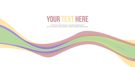 Collection abstract header website design