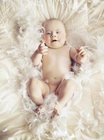 Photo pour Little baby - image libre de droit