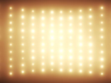 Photo pour Hundreds glimmers in orange tone - image libre de droit