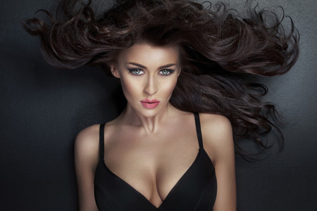 Alluring woman looking at the camera