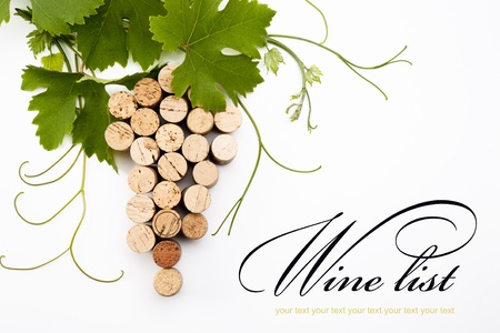 idea to design a wine list