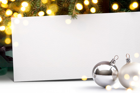 Art Christmas invitation background