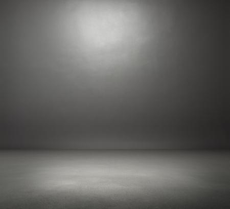 Photo for empty dark grey room - Royalty Free Image