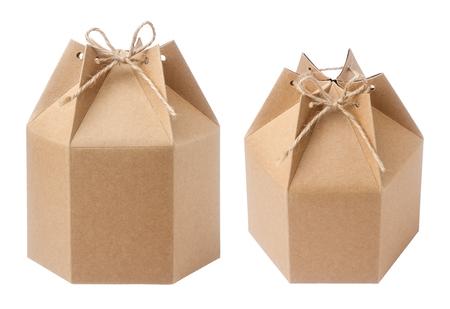 Brown packaging paper box