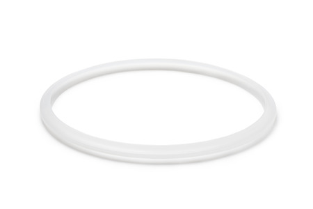 Sealing ring for pressure cooker on white background