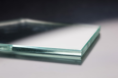 Glass roving fibre for pultrision process. Window fiberglass profile manufacturing. Plate glass, machined edge