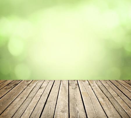Photo pour Empty table for display montages - image libre de droit