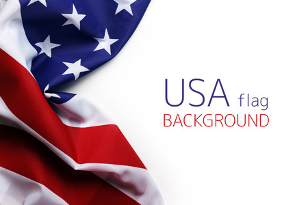 Photo pour USA flag - image libre de droit