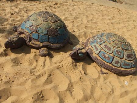 Stone turtles