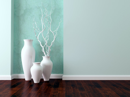 Detail shot of modern living room wall. Luxury interior design.
