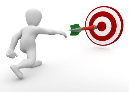 Photo pour dartboard - image libre de droit
