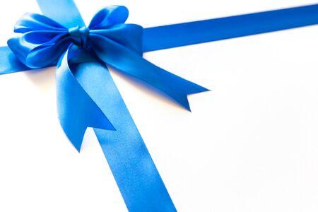 Foto für Bright bow for a gift. Close up - Lizenzfreies Bild