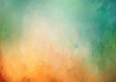 Illustration pour Vector abstract watercolor background with painting texture - image libre de droit
