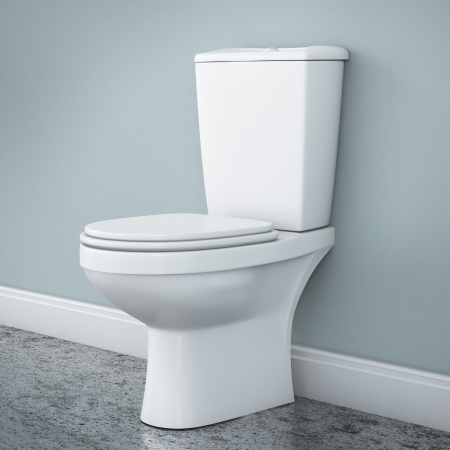 Foto de New toilet bowl - Imagen libre de derechos