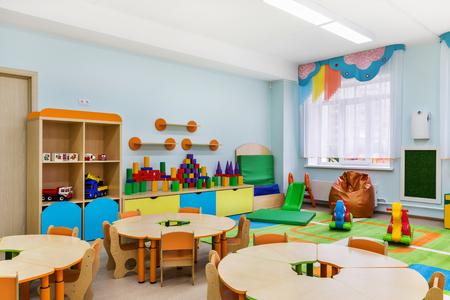 Photo pour game room in the kindergarten - image libre de droit