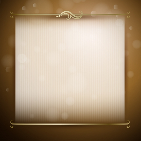 Vector background for design with classic decor