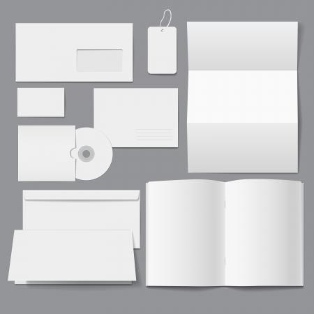 Illustration pour Blank Business Corporate Templates - image libre de droit