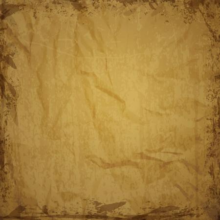 Illustration pour Paper texture  - brown paper sheet illustration  - image libre de droit