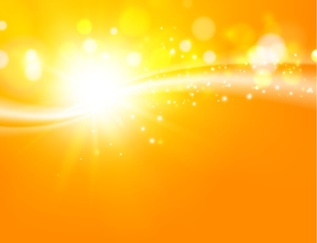 Download 750 Background Orange Rays Vector HD Paling Keren