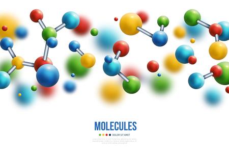 serotonin happiness hormone molecule vector illustration cartoondealercom