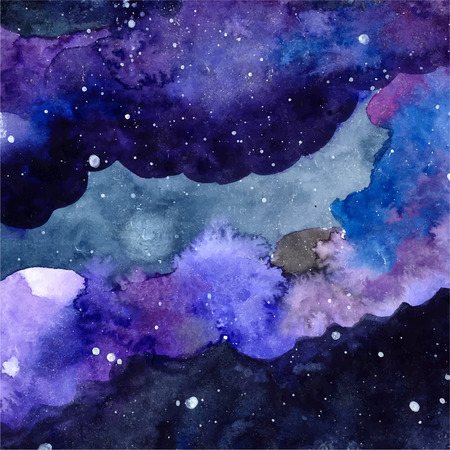 Starry Sky Watercolor