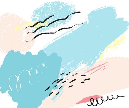 Illustration pour Abstract paint illustration. - image libre de droit