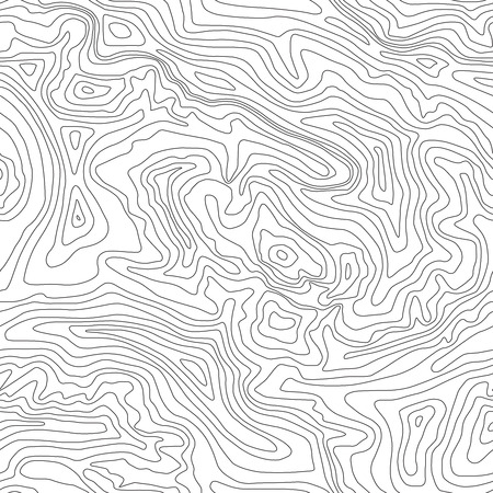 Illustration pour Topographic map, seamless pattern, line design, vector illustration - image libre de droit