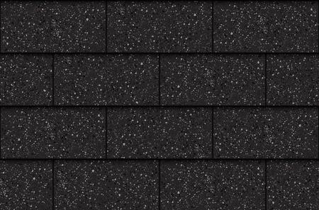 Illustration pour Asphalt roof shingles, seamless pattern, rectangles, vector illustration - image libre de droit