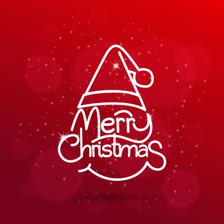 Illustration pour Christmas vector background - image libre de droit
