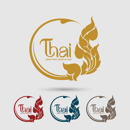 Photo pour Thai Art vector - image libre de droit