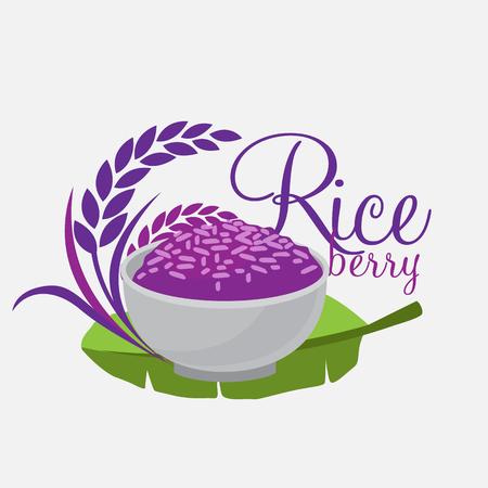 Foto de Rice berry Vector - Imagen libre de derechos