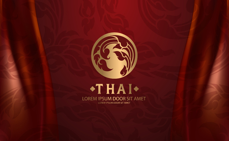 Ilustración de Thai Art vector - Imagen libre de derechos
